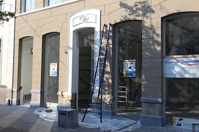 Buitenschilderwerk winkelpand Enschede Mellink Schilders
