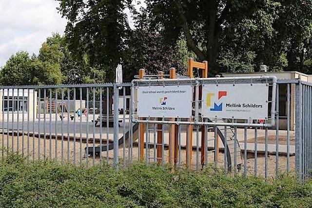 Buitenschilderwerk ESV School Enschede Mellink Schilders