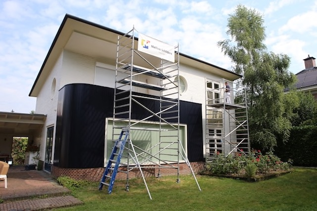 Buitenschilderwerk woning Enschede Mellink Schilders